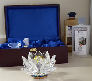 Alexandria Art Of Sense Crystal Lotus Blossom With Case