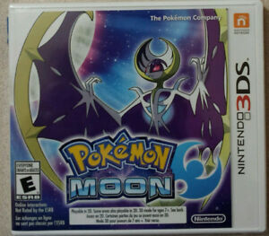 Pokemon Moon in like-new Condition for 3DS