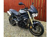 TRIUMPH STREET TRIPLE 675 - BEAUTIFUL EXAMPLE WITH SERVICE HISTORY + EXTRAS - PX