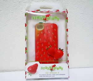 Brand New Strawberry iPhone 4 Case