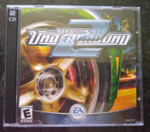 Mint condition NEED FOR SPEED UNDERGROUND 2!  (PC)