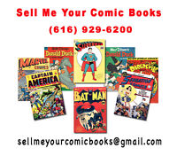 $ CASH $ 4 Your OLD COMIC BOOKS