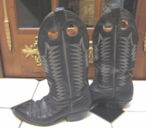 Vintage Boulet All Leather Cowboy / Western Boots