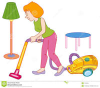 Awsome experienced cleaning lady
