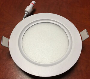 4'' LED Slim panel/Recessed light 6w=60w cUL certified IC Rated Kitchener / Waterloo Kitchener Area image 2