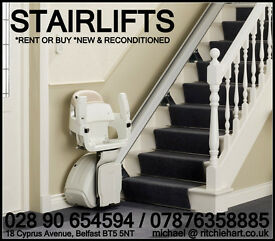 EX RENTAL STAIRLIFTS STAIR LIFTS