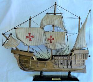 'Santa Maria' Model Ship – Christopher Columbus (Spain)
