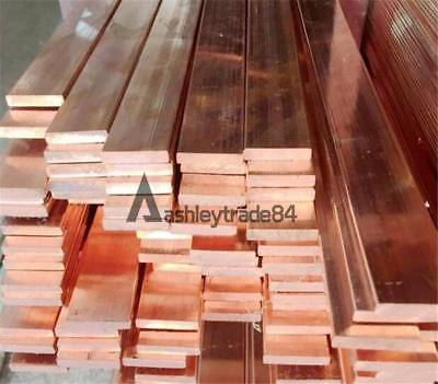 15*250mm 99.6/% T2 Purple Copper Cu Flat Bar Plate Metal Strip Thickness 3mm