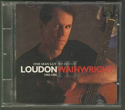 LOUDON WAINWRIGHT One Man Guy The Best Of 1982 1986 DEMON RECORDS (Best Loudon Wainwright Albums)