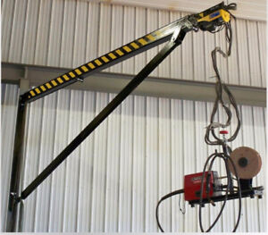 Maximize your welding shop with a Welder Boom!