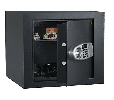 Electronic Digital Safe Fire Proof Document Jewelry Storage Floor Home Office