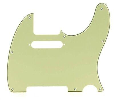 Mint Green Tele Standard Pickguard 3-ply fits USA & MIM for Telecaster (Mint Green Pickguard)