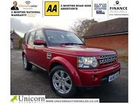 2010 Land Rover Discovery 4 3.0TDV6 (242bhp)4X4 Auto XS SATNAV,LEATHER,DEALER SH