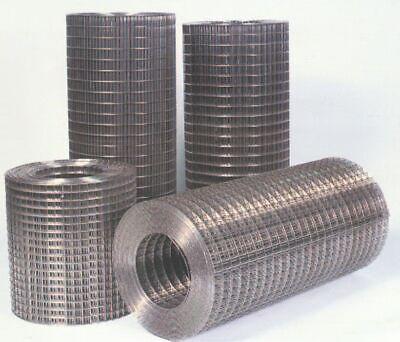 2 Rolls Of Cage Wire Mesh 100 Rolls 1 X 1 X 31 12.5 Gauge