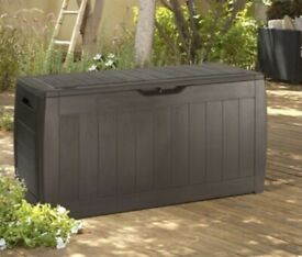 New Outside Garden Storage Box