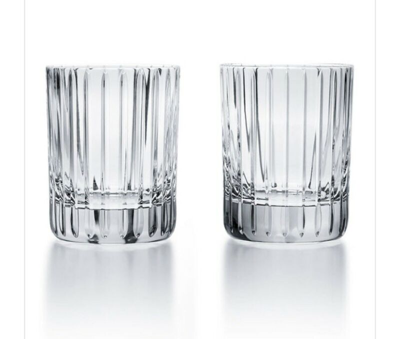 Baccarat Harmonie Tumbler No.2- Set  of 2 Tumblers New $280