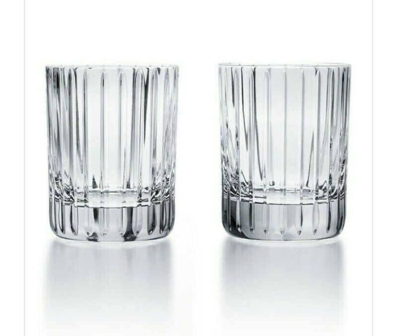 Baccarat Harmonie Crystal Tumbler No. 2 - Set  of 2; 4 1/8""