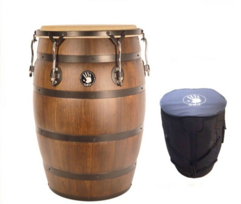 Professional Barril De Bomba Y Plena of Puerto Rico. Padded Gig-Bag Included.