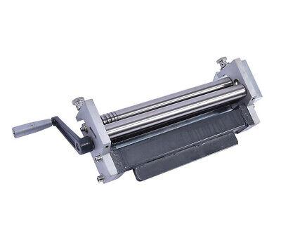 11225 Small Manual Steel Plate Rolling Machine Metal Plate Bending Round Machine