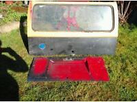 Volkswagen splitscreen back door and engine cover back door and engine door