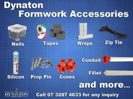 Dynaton Formwork Accessories:Nails, Tape, Conduit, Pin, Zip tie,