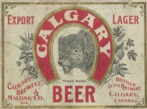 WANTED: Calgary Brewing and Malting Co.