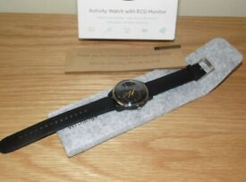 Withings Move ECG - Activity & Sleep Watch with ECG Monitor as New Boxed