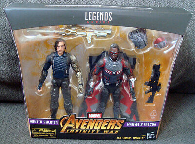 Exclusive Marvel Legends Avengers Infinity War WINTER SOLDIER & FALCON 2-Pack