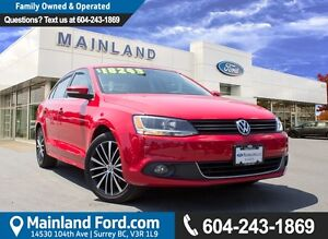 2014 Volkswagen Jetta 1.8 TSI Highline LOCAL, ONE OWNER