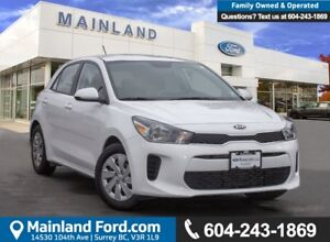 2018 Kia Rio5 LX+ LOW KMS, ACCIDENT FREE, BC LOCAL