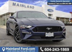 2018 Ford Mustang GT Premium ACCIDENT FREE, LOCALLY DRIVEN