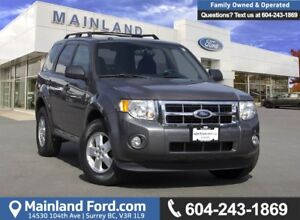 2012 Ford Escape XLT *ACCIDENT FREE* *LOCALLY DRIVEN*