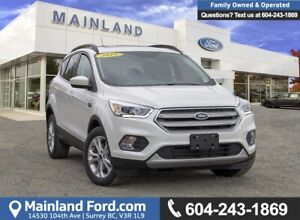 2018 Ford Escape SEL EXTREMELY LOW KMS, ACCIDENT FREE, LOCAL