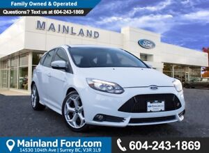 2014 Ford Focus ST LOCAL BC, LOW KMS