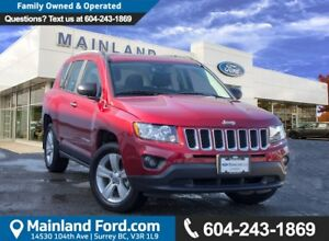 2017 Jeep Compass Sport/North LOW KMS, BC LOCAL