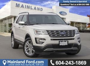 2017 Ford Explorer Limited *ACCIDENT FREE* *LOCALLY DRIVEN*