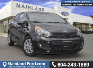 2013 Kia Rio LX+ *LOCALLY DRIVEN*