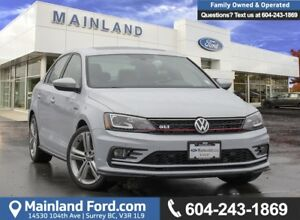 2017 Volkswagen Jetta GLI Autobahn *ACCIDENT FREE* * LOCALLY...