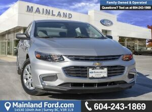 2016 Chevrolet Malibu L ACCIDENT FREE, LOCALLY DRIVEN