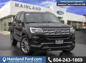 2018 Ford Explorer Limited *ACCIDENT FREE* * LOCALLY DRIVEN*