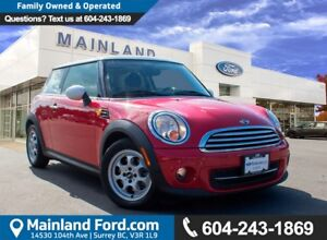 2012 Mini Cooper NO ACCIDENTS, LOW KMS, LOCAL
