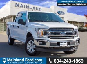 2018 Ford F-150 XLT LOW KMS, ACCIDENT FREE, BC LOCAL