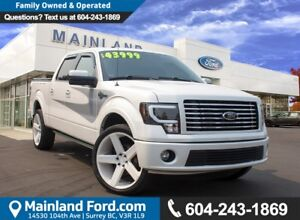 2012 Ford F-150 Harley-Davidson NO ACCIDENTS, LOCAL, LOW KM'S