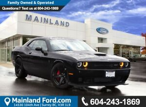 2017 Dodge Challenger SRT Hellcat 707 HP, LOW KMS, LOCAL, NO...