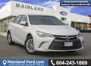 2016 Toyota Camry LE LOW KMS, BC LOCAL