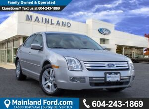 2007 Ford Fusion SEL ACCIDENT FREE, BC CAR, LOW KMS