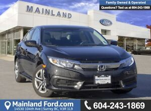 2018 Honda Civic LX *ACCIDENT FREE* * LOCALLY DRIVEN*