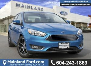 2015 Ford Focus Titanium LOW KMS, BC LOCAL