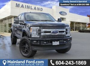 2018 Ford F-350 Limited ACCIDENT FREE, BC LOCAL