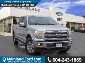 2017 Ford F-150 Lariat LOW KMS, ACCIDENT FREE